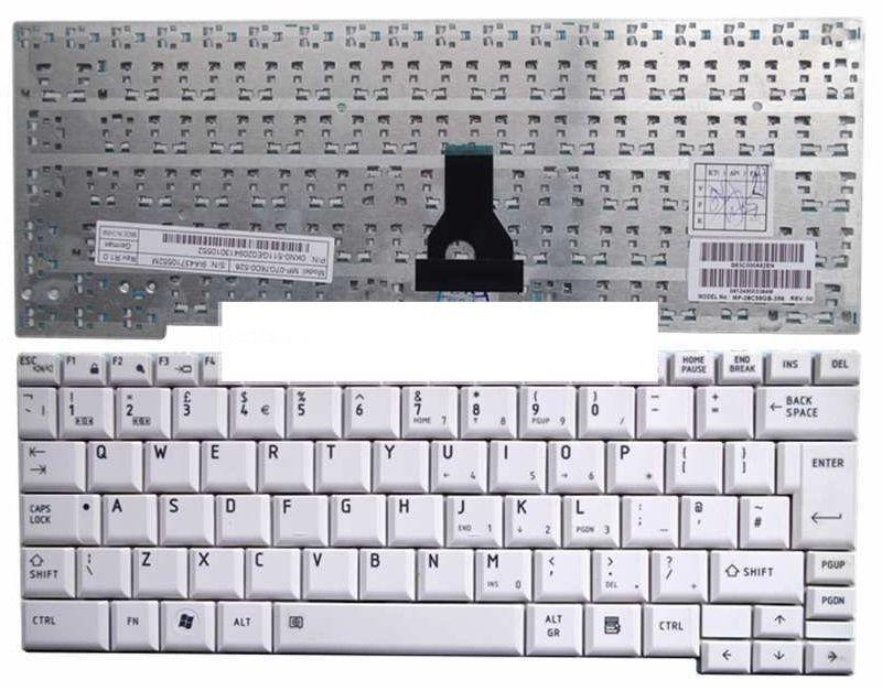 Toshiba R500 Klavye